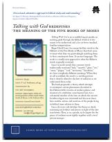 Talking With God Summary Sheet